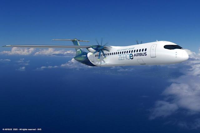 airbus zero emission turboprop