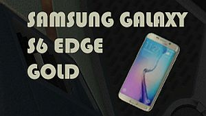 Samsung Galaxy S6 Edge Gold interior addon