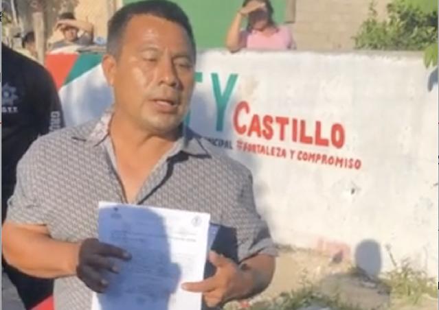 Policías municipales embolsan a coordinador de campaña de MC: fue torturado