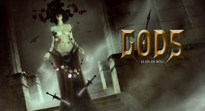GODS, le jeu de rôle, par Bastien Lecouffe Deharme