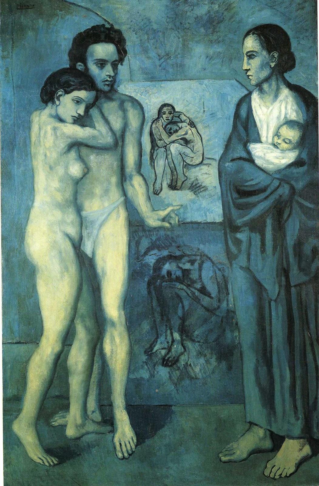 Vida - Picasso e suas pinturas ~ O maior expoente da Arte Moderna