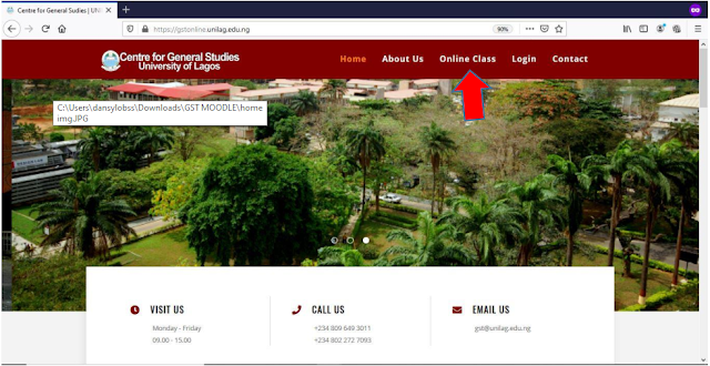UNILAG GST Online Lectures Guidelines [Photos] | How to Login