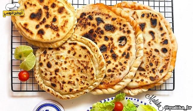 طريقة تحضير المطبڨة - المطبخ التونسي