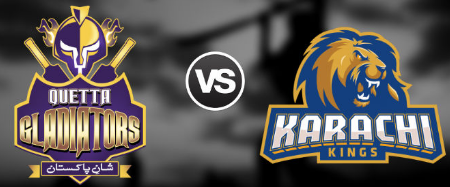 Karachi Kings Vs. Quetta Gladiators