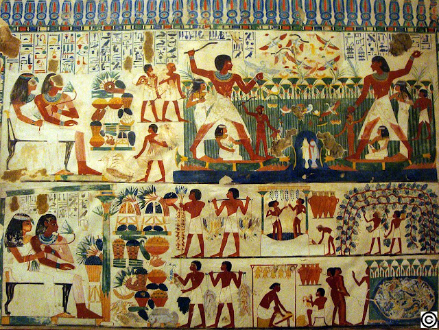 Perneb's Tomb Paintings