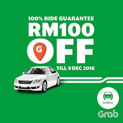 Grab Malaysia GrabCar Promo Code Discount Rides