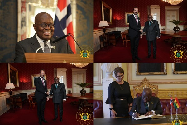 Ghana, Norway Pledge To Reinforce Ties Of Co-Operation