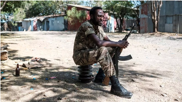 Gunmen murder more than 100 civilians in western Ethiopia, the Rights Commission reports.