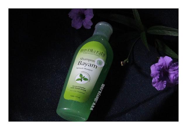 Review Shampoo Bayam Mustika Ratu (Merawat Rambut Tidak Mudah Rontok)