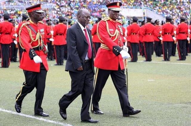 Tanzania President John Pombe Magufuli