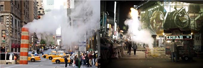¿De  dónde salen los emblemáticos  vapores y humaredas en las calles de Nueva York?