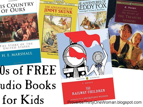 100s of Free Audio Books for Kids