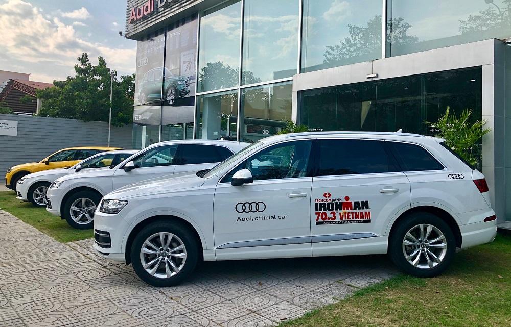 Audi đồng hành cùng giải IRONMAN 70.3 Việt Nam