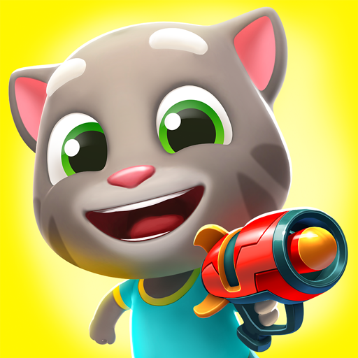 Talking Tom Blast Park: The New Blasting Adventure  – APK MOD HACK – Dinheiro Infinito