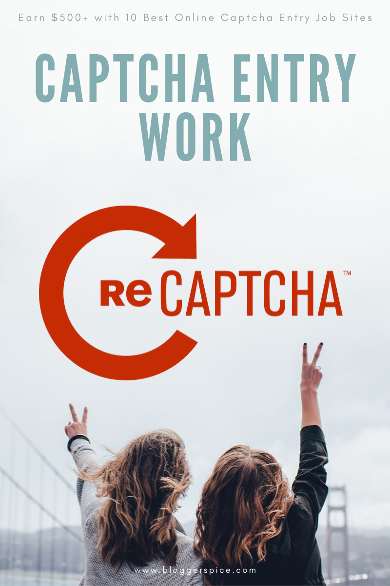 Make Money with Online Captcha Entry Jobs Sites