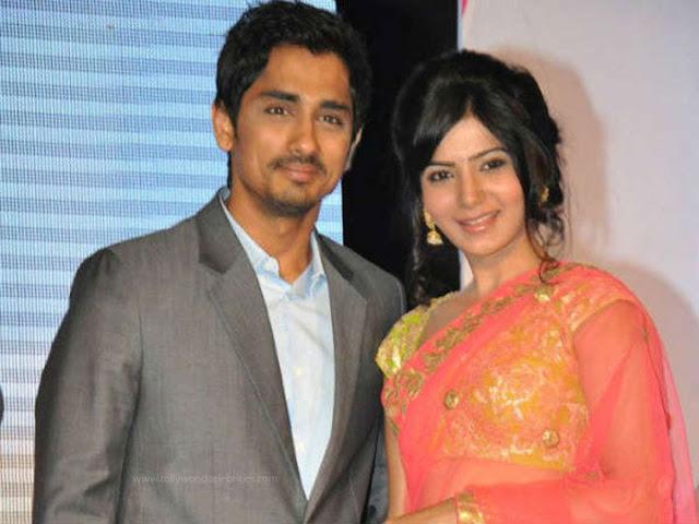 Samantha About Siddharth's Affair?