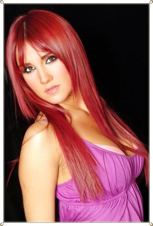 Glamouröse Rote Haare Frisuren