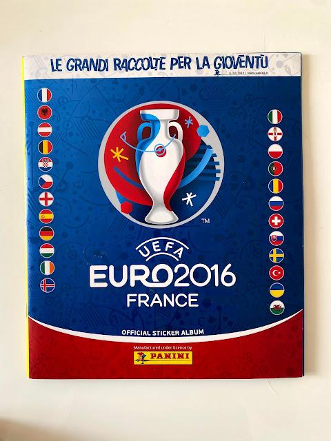 Copertina Album Panini Euro 2016