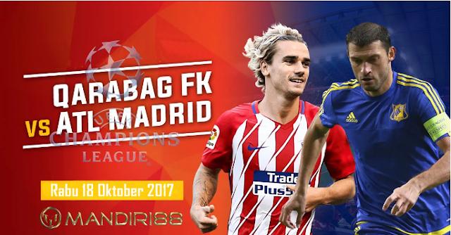 Rojiblancos Siap Tumbuhkan Asa Untuk Lolos Berita Terhangat Prediksi Bola : Qarabag FK Vs Atletico Madrid , Rabu 18 Oktober 2017 Pukul 23.00 WIB