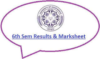 UGB 6th Sem Result 2021