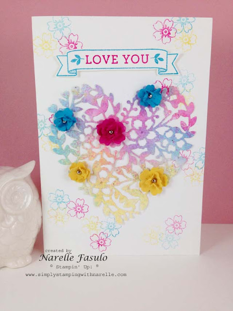 Bloomin' Love - Simply Stamping with Narelle -  order here - http://www3.stampinup.com/ECWeb/default.aspx?dbwsdemoid=4008228