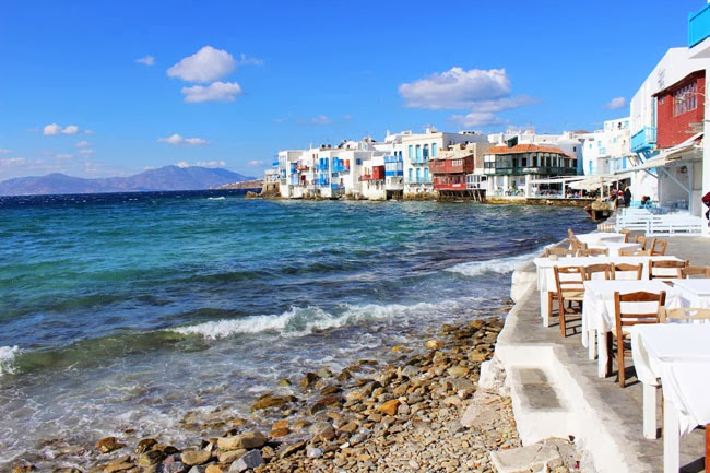 Little Venice Mykonos best photos