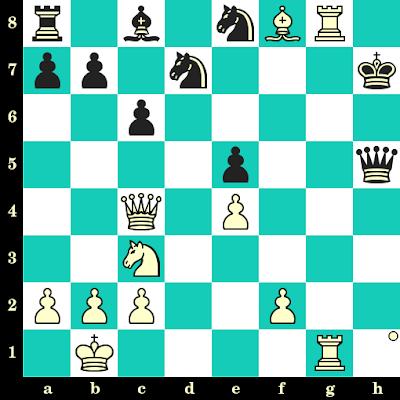 Les Blancs jouent et matent en 2 coups - Olga Girya vs Dina Drozdova, Moscou, 2008