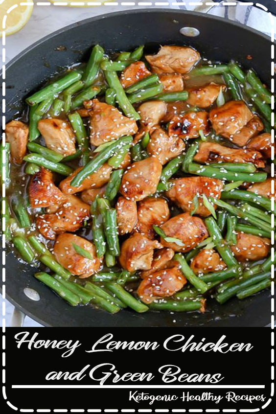Honey Lemon Chicken and Green Beans