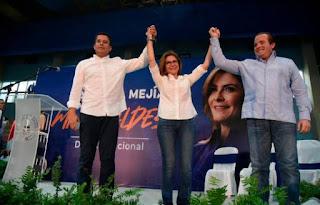 """Carolina Mejía proclama : """"acepto el reto de ser la primera mujer en dirigir nuestra ciudad"""""""