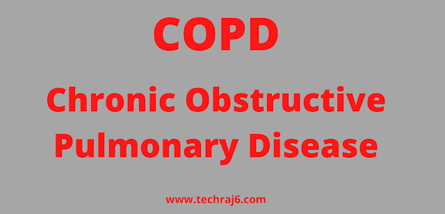 COPD full form, What is the full form of COPD