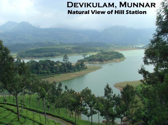 Munnar Attractions :  Devikulam Munnar