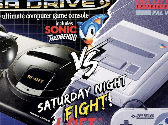 Sega Mega Drive vs Super Nintendo