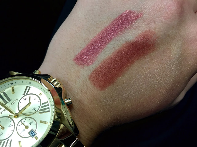 Gerard Cosmetics 1995 and Rodeo Drive Swatches