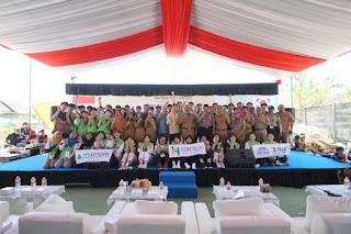 Pelajar Korea Perbaiki Sekolah Di Desa Kandangwaru Kabupaten Cirebon