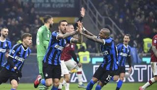 Tertinggal 2 Gol, Inter Bangkit dan Hancurkan Milan di Babak Kedua