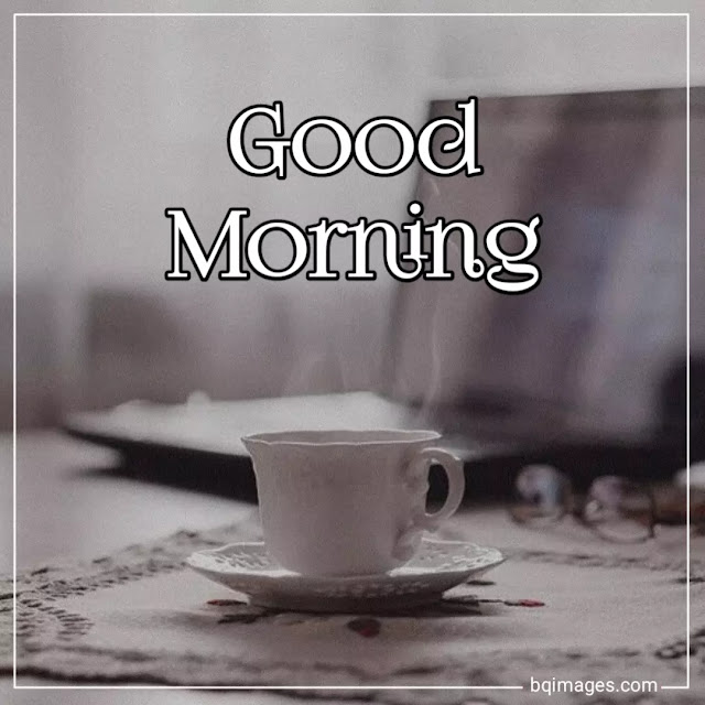 good morning hot tea images
