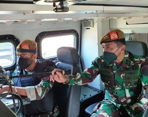 Mengintip Alutsista Tercanggih Milik TNI AD di Markas Yonarmed Singosari