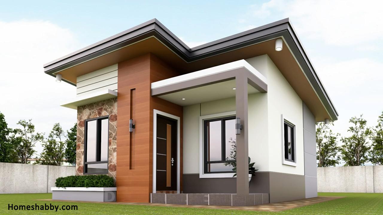 Desain Dan Denah Rumah Minimalis Ukuran 6 X 7 M Dengan Tampilan Eksterior Yang Keren Dan Unik Homeshabby Com Design Home Plans Home Decorating And Interior Design