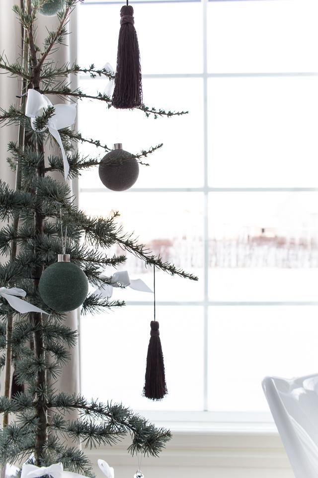 Villa H, joulukoristeet