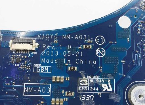 NM-A031 Rev 1.0 Lenovo Y410P Laptop Bios