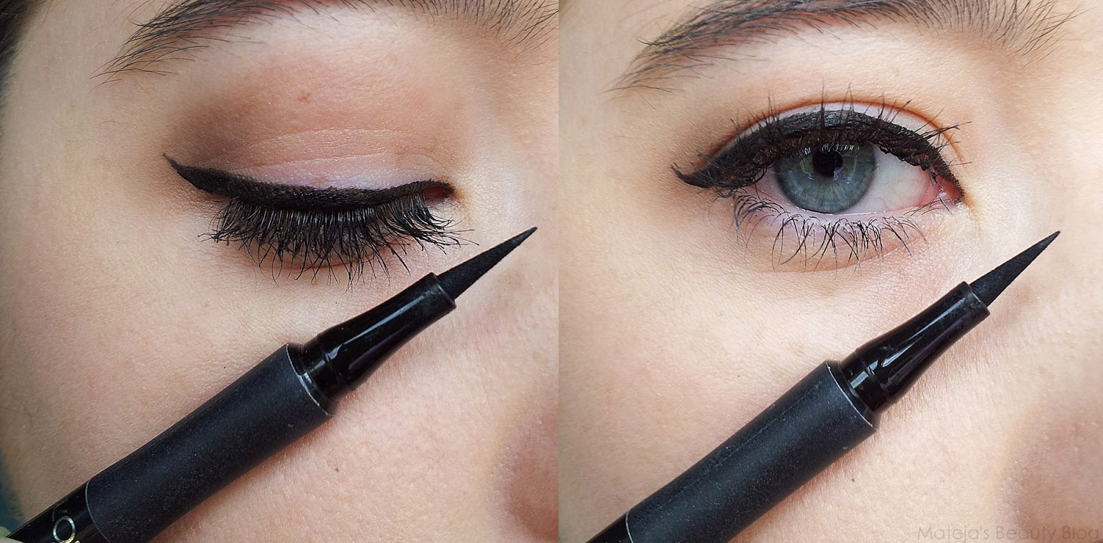 Manhattan Eyemazing and L'Oreal Super Liner Perfect Slim