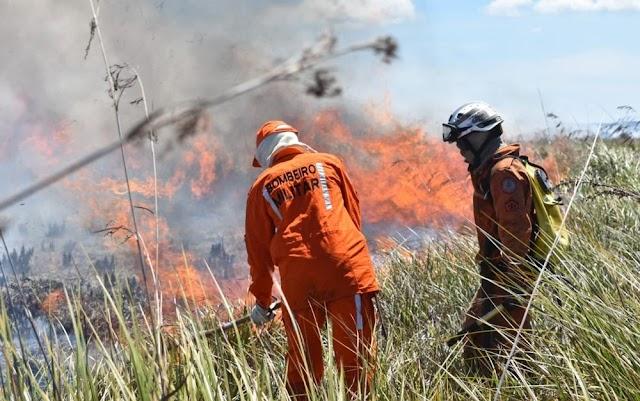 Incêndio é controlado em reserva indígena