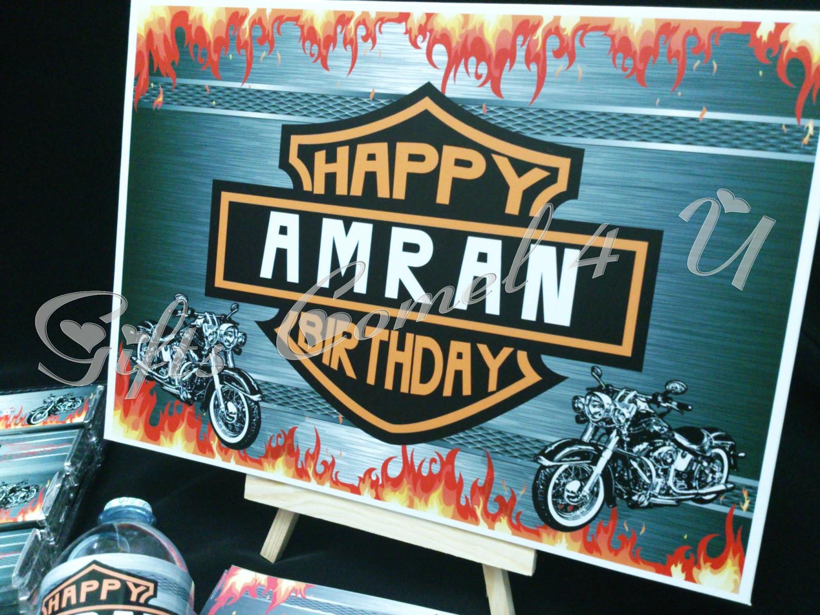 Harley Davidson Gift Card Laura Williams – Harley Davidson Birthday Cards