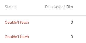 Cara Mengatasi Couldn't Fecth Sitemap Pada Search Console Terbaru