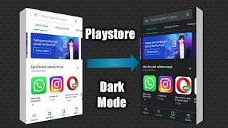 Telah Hadir Dark Mode Play Store, Ini Cara Menggunakannya