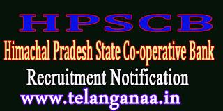 HPSCB (Himachal Pradesh State Co-operative Bank) Recruitment Notification 2016