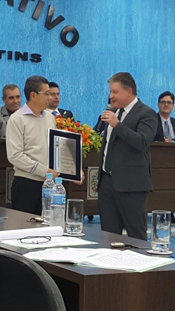 Yutaka Ishida recebe título de cidadão Jacupiranguense