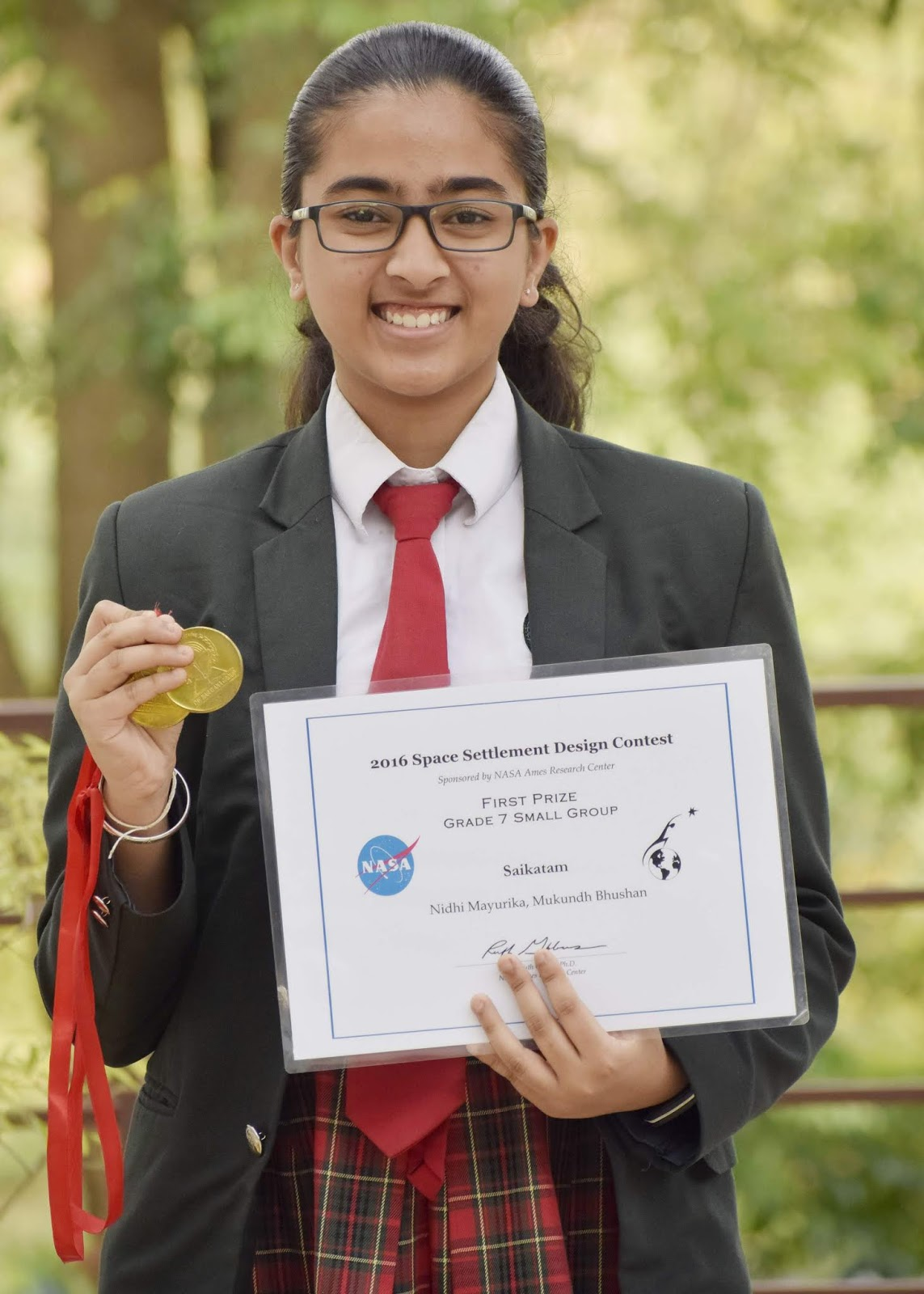 A Class 9 Student Won Tough NASA Contests Three Times In A Row