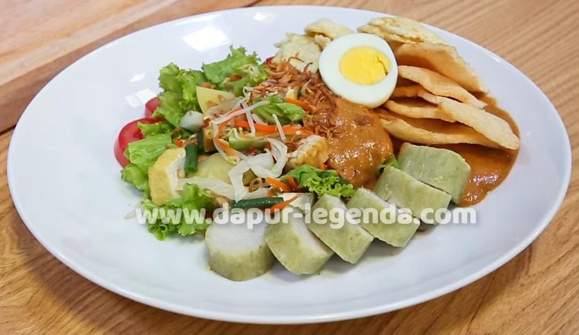 Resep No.1 Cara Membuat Gado-gado Jakarta Spesial