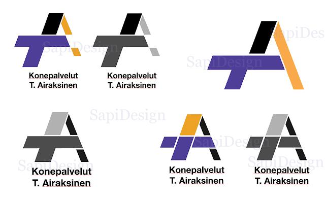 logo yritys suunnittelu company designing Sapidesign